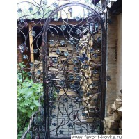 Кованые калитки и двери16