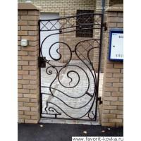 Кованые калитки и двери17