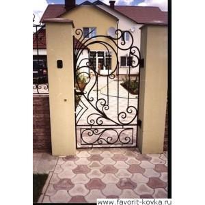 Кованые калитки и двери18