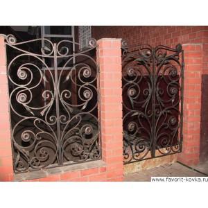 Кованые калитки и двери19