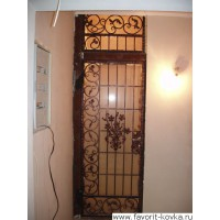 Кованые калитки и двери23