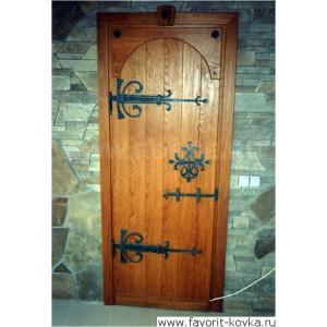 Кованые калитки и двери24
