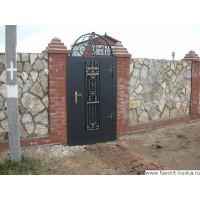 Кованые калитки и двери25