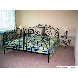 Кованые кровати3