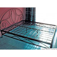 Кованые кровати4