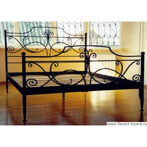 Кованые кровати9