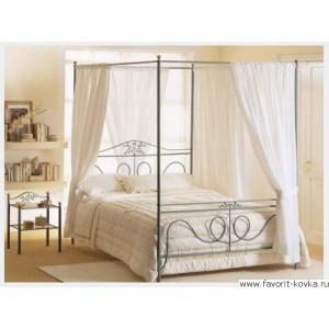 Кованые кровати10