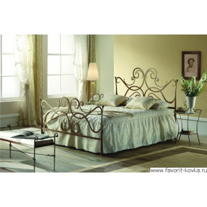 Кованые кровати12