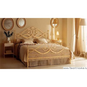 Кованые кровати14