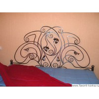 Кованые кровати16