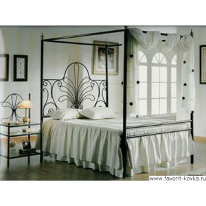 Кованые кровати23