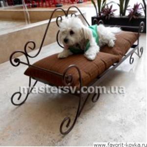 Кованые лежаки для животных4