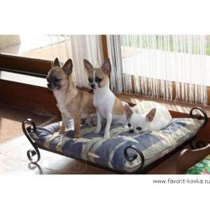 Кованые лежаки для животных10