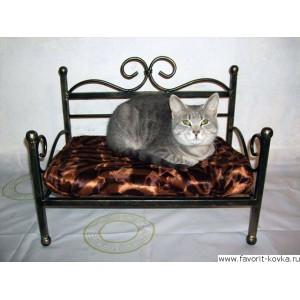 Кованые лежаки для животных12