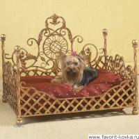 Кованые лежаки для животных14