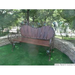 Кованые скамейки1