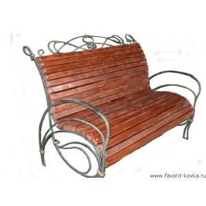 Кованые скамейки3