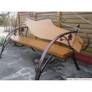 Кованые скамейки4