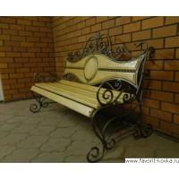 Кованые скамейки5