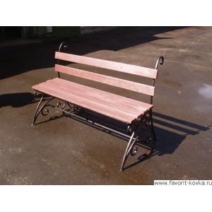 Кованые скамейки9