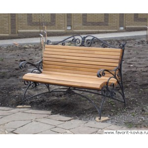 Кованые скамейки10