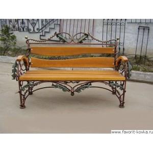 Кованые скамейки12