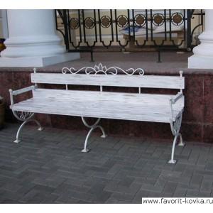 Кованые скамейки16