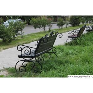 Кованые скамейки23