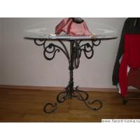 Кованые столы и журнальные столики24
