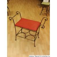 Кованые стулья и пуфики2