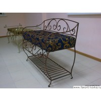Кованые стулья и пуфики9