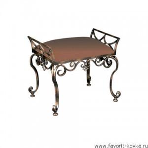 Кованые стулья и пуфики11