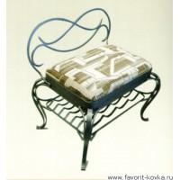 Кованые стулья и пуфики14