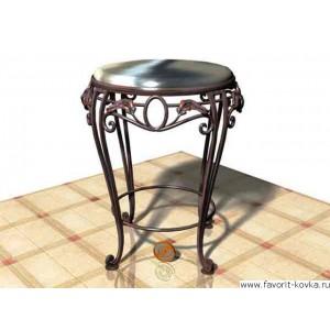 Кованые стулья и пуфики15