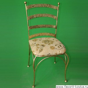 Кованые стулья и пуфики16