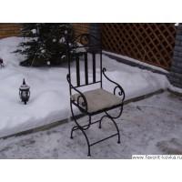 Кованые стулья и пуфики17