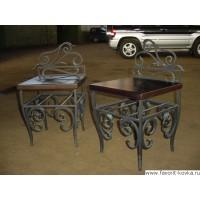 Кованые стулья и пуфики24