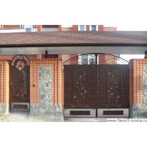 Кованые ворота2