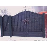 Кованые ворота6