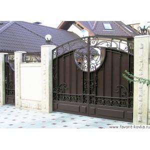 Кованые ворота7