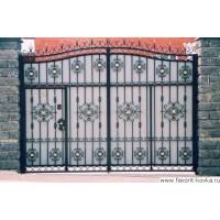 Кованые ворота14