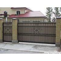 Кованые ворота17