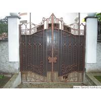 Кованые ворота20