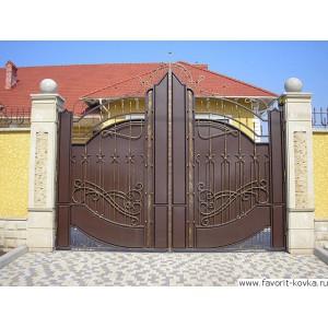 Кованые ворота21