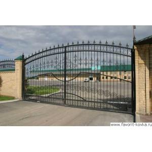 Кованые ворота22