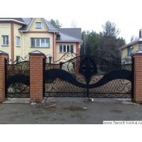 Кованые ворота25