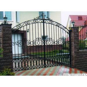 Кованые ворота28