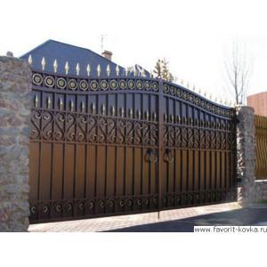 Кованые ворота32