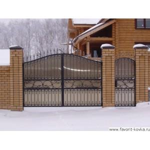 Кованые ворота34
