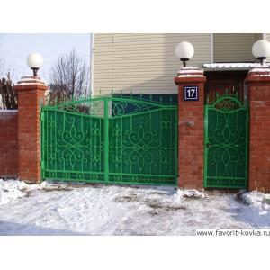 Кованые ворота40